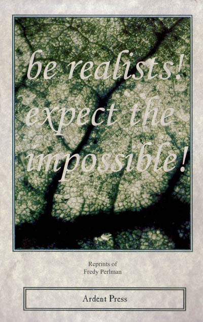 be realists!