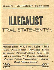 Illegalist Trial Statements