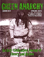 Green Anarchy, #19