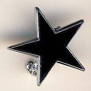 Black Star pin